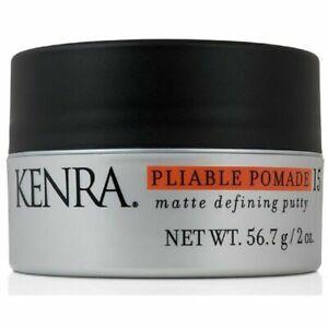 KENRA Pliable Pomade 15 Matte Defining Putty, 2oz