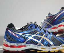 🔥$150 Men's ASICS Gel-Kayano 19 Limited sz 7 silver red stability running shoes