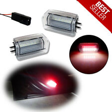 LED Side Door Courtesy Welcome Lamps White+Red For Toyota Prius/Avalon/Camry etc