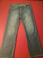 Lucky Brand 182 Jeans 38 x 34 - Low Rise Relaxed-Fit Bootleg Button-Fly USA Made