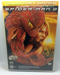 Spider-man 2 DVD Collectors edition with special features 2 disc region 4