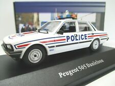 Atlas Editions 1/43 Peugeot 505 Danielson Police Car France 1983 1974 #7598080