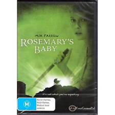 DVD ROSEMARY'S BABY Mia Farrow 1968 ROMAN POLANSKI HORROR DRAMA MYSTERY R4 [BNS]