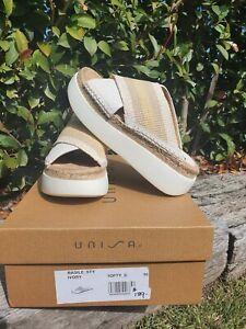 UNISA Basile Sty Ivory, Au size 6 Genuine leather Shoes | RRP $189! Brand new!