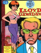 The Manly World of Lloyd Llewellyn     Daniel Clowes     Signed & Numbered