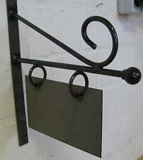 Neu!!  Ausleger mit Eisenschild, mit Tafel, Hausnummer, Ladenschild, Werbung