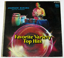 Philippines ANASTACIO MAMARIL Favorite Variety Top Hits OPM LP Record