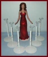 """6 KAISER Gene Doll Stands for 16"""" Alex TYLER MARLEY WENTWORTH"""