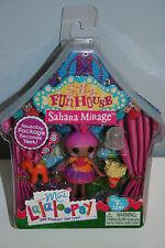 Mini Lalaloopsy Dolls Sahara Mirage Silly Funhouse Series w/Pet NIB