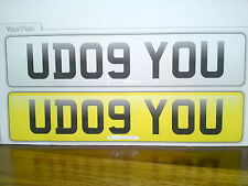 U Dog You Personalised Number Plate Race & Track Day Car 997 996 911 GT3 RS ATOM