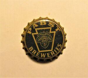 PABST BREWERIES 1930's cork crown cap PENNSYLVANIA TAX cap