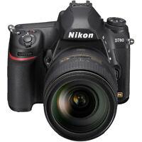 Nikon D780 FX-Format DSLR Camera Body w/AF-S NIKKOR 24 -120mm f/4G ED Lens