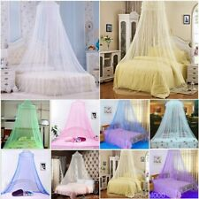 Pink Double King Size Mosquito Net Canopy Travel Insect Protect Single Entry Hot