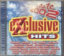 Exclusive Hits Estate 2002 SHAKIRA MOONY NEK PAOLA & CHIARA CD USATO NEAR MINT