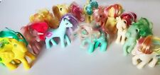 Lot of 13 Vintage MLP MY LITTLE PONY G1 Ponies Unicorn Pegasus Rares 1980s