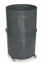 New! Dayton Dust Collector Collapsible 55-Gallon Drum, 3Aa33
