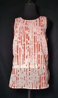 Banana Republic Women's Blouse Size 4 sleeveless career layered top tank shell