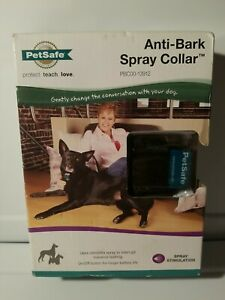"PETSAFE Anti-Bark Spray Collar for Dogs 6+ pounds Neck Size up 24"" Training New"