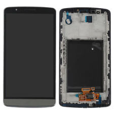 For LG G3 LCD Display Screen Touch Digitizer Assembly + Frame Replacement Grey
