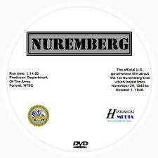 NUREMBERG - OFFICIAL U.S. GOVERNMENT FILM ABOUT TRIAL (DVD) (NTSC)