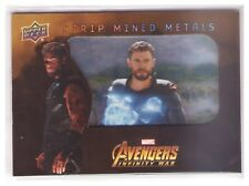 2018 Upper Deck Marvel Avengers Infinity War Strip Mined Metals #25 Thor SP 1:54