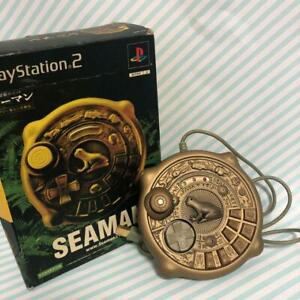 Seaman Limited Edition Special Controller Sony Play Station 2 PS2 ASCII Used