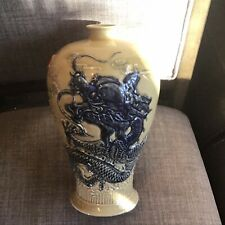 Chinese Dragon Porcelain Vase