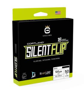 Cortland Silent Flip 100 Yard Spool test: 65lb color: Black
