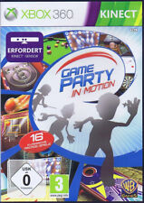Game Party in Motion XBOX 360 ( Kinect erforderlich ) Active Sport Spiel