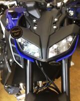 Yamaha MT-09 (2017+) Motorcycle Headlight Protector / Light Guard Kit