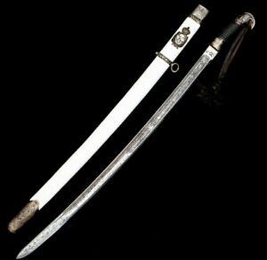 Russian Caucasian Cossack Shashka Sword 1904 1905 Kindjal For Fight 2 Weapons