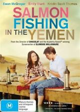SALMON FISHING IN THE YEMEN (DVD 2012)-EWAN McGREGOR, EMILY BLUNT, KRISTIN SCOTT
