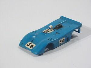 Aurora AFX McLaren blue 54 body only