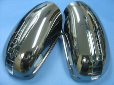 ARROW LED DOOR MIRROR DARK CHROME COVERS FOR 2005-2008 MERCEDES W164 ML M-CLASS