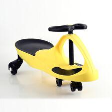 Kid Toy Ride On Wiggle Car Twist Child Toddler Fun Scooter Swing Gyro Yellow
