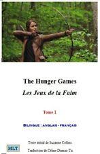 Livre, les jeux de la faim, Céline Dumas-Tu, Hunger Games,livre bilingue tome 1