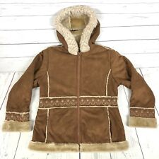 The Big Chill Fully Lined Hooded Juniors Jacket Girls Size Large L 14/16