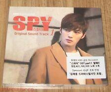 SPY KIM JAE JOONG JAEJOONG K-DRAMA OST PART 1 CD + PHOTO + POSTER IN TUBE CASE