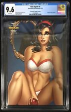 """Red Agent #5 CGC 9.6 MegaCon 2016 Exclusive """"Naughty"""" Edition! Limited to 250!"""