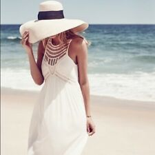 BHLDN Jessalyn Twelfth Street by Cynthia Vincent Dress Off White Beach Wedding 6