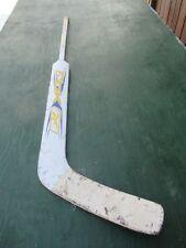 "Vintage Wooden 53"" Long Hockey Stick Goalie Rbk"
