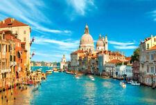 1000 Pieces Adult Puzzle Set Venice City Buildings Boats Jigsaw Difficult Puzzle