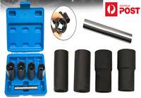 """5Pcs 1/2"""" Drive Twist Socket Set Wheel Lock Nuts Removal Damaged Nuts Tool Kits"""