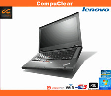 "Lenovo T430i, 14"" Laptop, Core i3 2.5GHz, 4GB RAM, 320GB HDD, Windows 7 Pro"