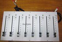 SSL Solid State Logic 626686X1 A-Series 8x 626380XR Linear Fader Panel - Grade A