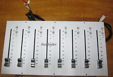 SSL Solid State Logic 626686X1 A-Series 8x 626380XR Linear Fader Panel - Grade A