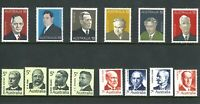 Australia 1969-75 Last Stamp SET First Prime Ministers 1st 2nd 3rd Series Issues