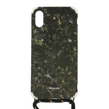 Mayumi iPhone X/XS Necklace Case Black Gold Rush Schutzhülle Handykette Hülle