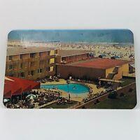 Postcard from 1970 New Jersey Marlborough-Blenheim Atlantic City Pool Beach B-7b