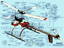 Build your own RADIO CONTROL MODEL HELICOPTER PLANS & BUILDING NOTES